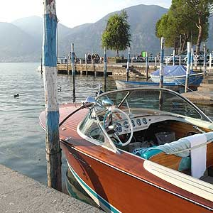 Bild zeigt ein Boot der Marke Riva
